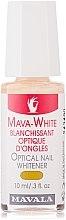 Profumi e cosmetici Lozione sbiancante per unghie - Mavala Mava-White Optical Nail Whitener