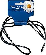 Profumi e cosmetici Cerchio per capelli, 27819 nero - Top Choice