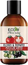 """Profumi e cosmetici Acqua micellare """"Pomodori e olive"""" - Eco U"""