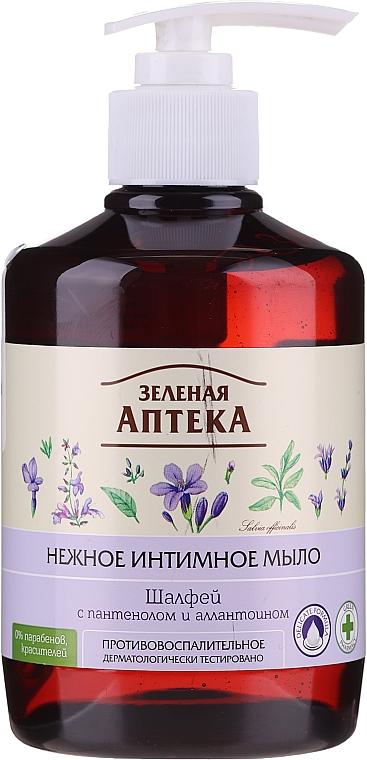 "Sapone intimo delicato antinfiammatorio ""Salvia"" - Green Pharmacy"