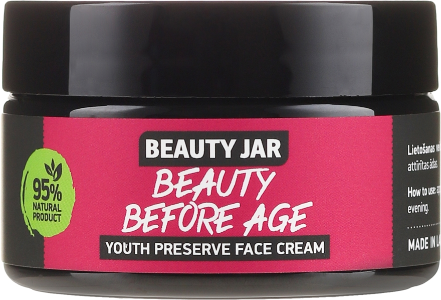 Crema viso anti-età - Beauty Jar Beauty Before Age Youth Preserve Face Cream — foto N2