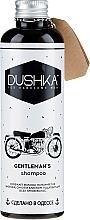 "Profumi e cosmetici Shampoo per uomo ""Gentleman's shampoo"" - Dushka"
