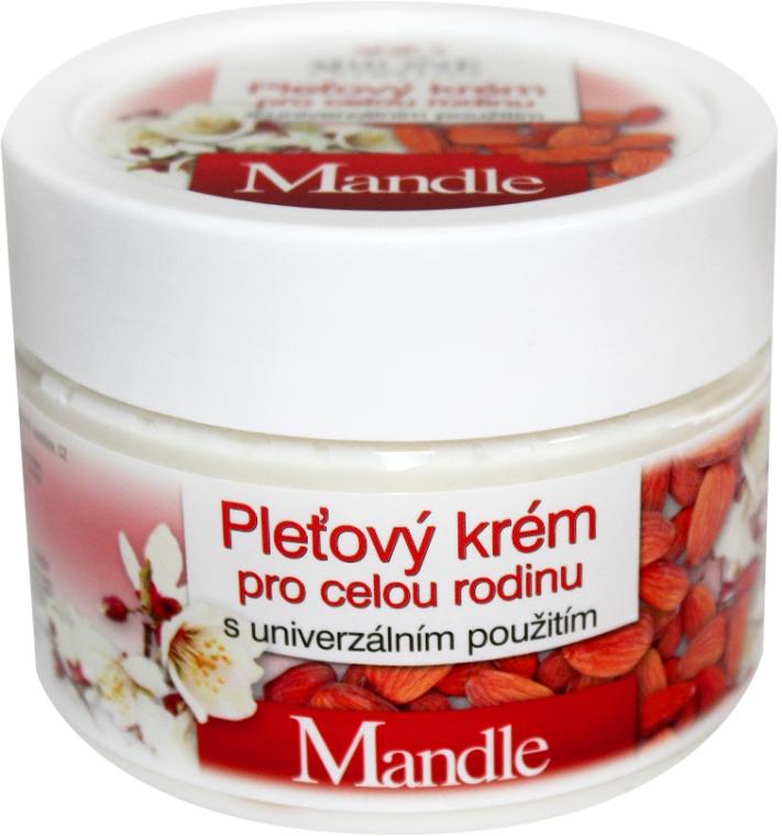 Crema universale con olio di mandorle dolci - Bione Cosmetics Mandle Cream
