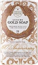 Profumi e cosmetici Sapone extra preparato con oro 23 K - Nesti Dante Luxury Gold Soap