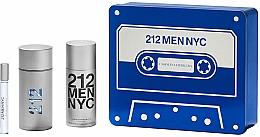 Profumi e cosmetici Carolina Herrera 212 Men NYC - Set (edt/100ml + deo/150ml + edt/10ml)