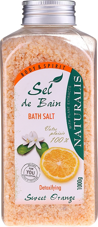 Sale per il bagno - Naturalis Sel de Bain Sweet Orange Bath Salt