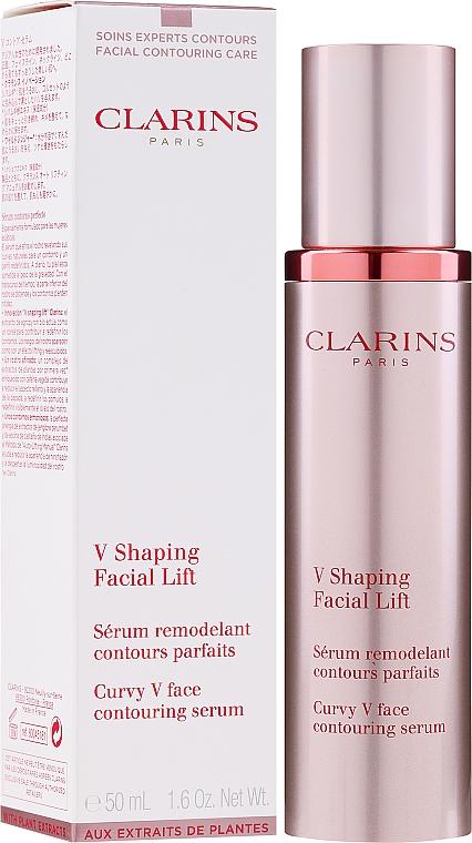 Siero viso rimodellante - Clarins Shaping Facial Lift Total V Contouring Serum — foto N2