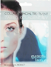 Profumi e cosmetici Trattamento viso al collagene con alghe - Beauty Face Collagen Hydrogel Mask