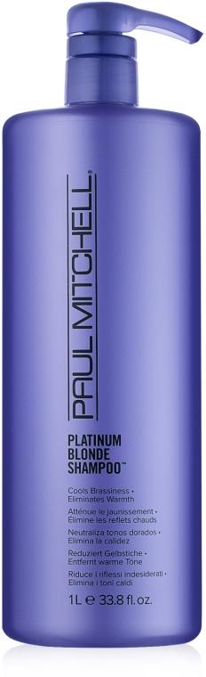 Shampoo per capelli biondi - Paul Mitchell Blonde Platinum Blonde Shampoo