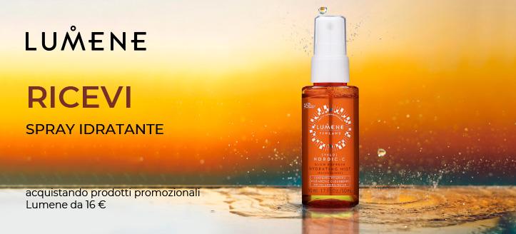 Ricevi in regalo uno spray idratante, acquistando prodotti promozionali Lumene da 16 €