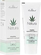 Profumi e cosmetici Maschera rigenerante e nutriente - Cannaderm Natura