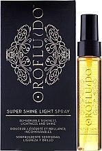 Profumi e cosmetici Spray per capelli lucenti - Orofluido Super Shine Light Spray