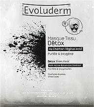 Profumi e cosmetici Maschera viso purificante - Evoluderm Detox Sheet Mask