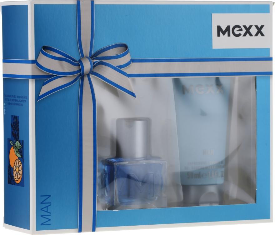 Mexx Man - Set (edt/30ml + s/g/50ml) — foto N1