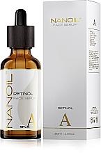 Profumi e cosmetici Siero viso rivitalizzante al retinolo - Nanoil Face Serum Retinol