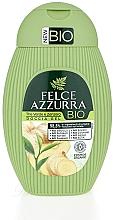 "Profumi e cosmetici Gel doccia ""Tè verde e zenzero"" - Felce Azzurra BIO Creen Tea&Ginger Shower Gel"