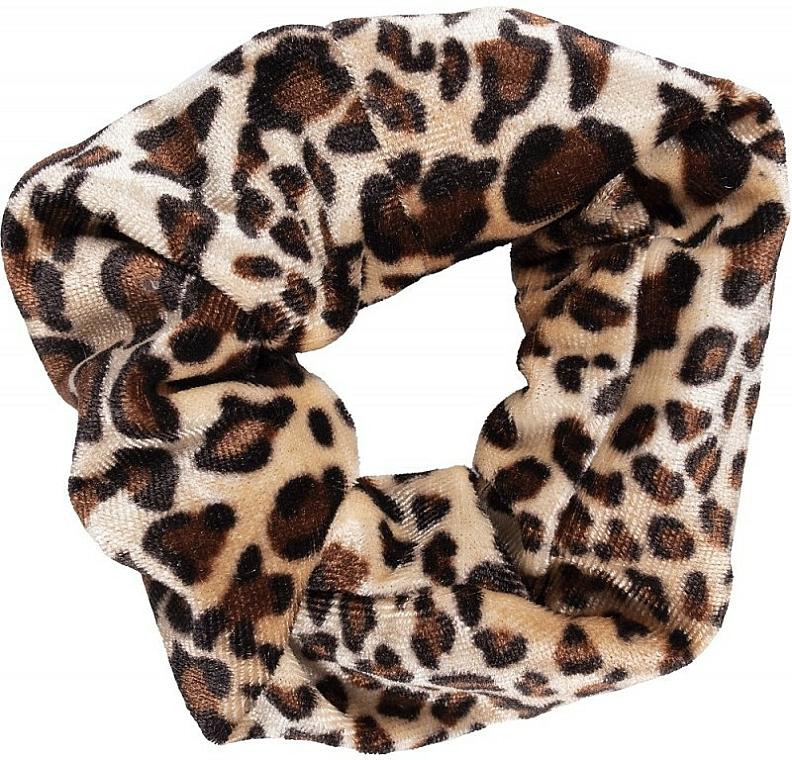 Elastico per capelli, 22890, leopardato 2 - Top Choice Leopard
