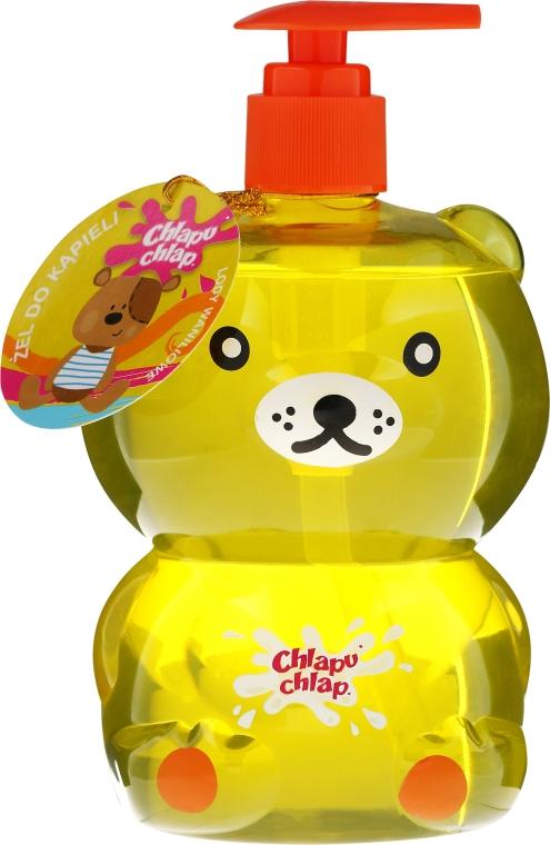 """Gel doccia per bambini """"Bear"""", gelato alla vaniglia - Chlapu Chlap Bath & Shower Gel"""