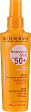 Profumi e cosmetici Spray solare viso e corpo - Bioderma Photoderm Photoderm Max Spray SPF 50+