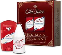 Profumi e cosmetici Set - Old Spice Whitewater Vintage (deo/50ml + ash/lot/100ml)