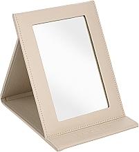 Profumi e cosmetici Specchio cosmetico, beige - MakeUp Tabletop Cosmetic Mirror Beige