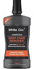 Profumi e cosmetici Collutorio - White Glo Charcoal Deep Stain Remover Mouthwash