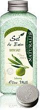 Profumi e cosmetici Sale per il bagno - Naturalis Sel de Bain Olive Milk Bath Salt