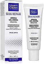 Profumi e cosmetici Crema-gel viso - MartiDerm Skin Repair Arnika Cream Gel SPF 30