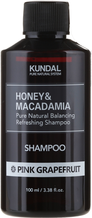 "Shampoo ""Pompelmo rosa"" - Kundal Honey & Macadamia Pink Grapefruit Shampoo"