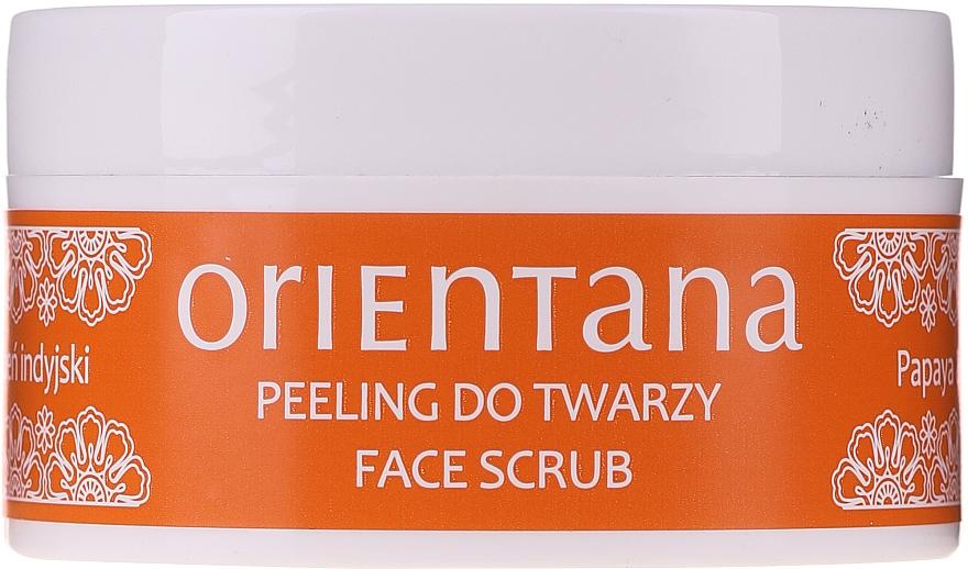 Set - Orientana Papaya (f/cr/40ml + f/peeling/50ml + eye/mask/1pad) — foto N7