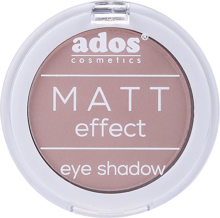Ombretto opaco - Ados Matt Effect Eye Shadow — foto N1