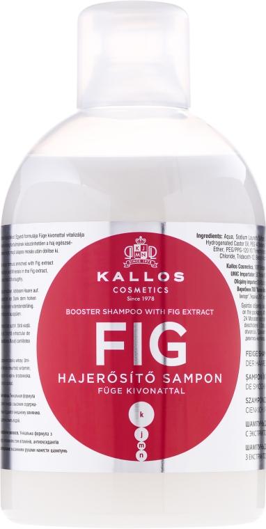 Shampoo rigenerante - Kallos Cosmetics FIG Booster Shampoo With Fig Extract