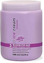 Profumi e cosmetici Maschera per capelli secchi e danneggiati - Inebrya Ice Cream SheCare Reconstructor Mask