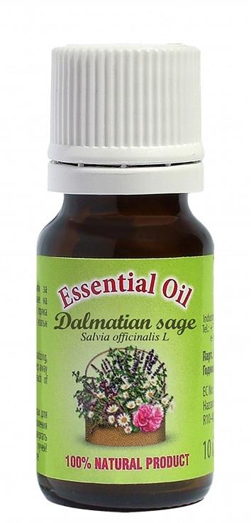 "Olio essenziale ""Salvia"" - Bulgarian Rose Dalmatian Sage Essential Oil — foto N2"