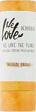 "Profumi e cosmetici Deodorante solido ""Orange"" - We Love The Planet Original Orange Deodorant Stick"