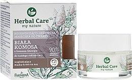 Profumi e cosmetici Maschera viso restitutiva e nutriente - Farmona Herbal Care
