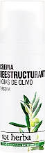 Profumi e cosmetici Crema viso idratante, da giorno - Tot Herba Crema Restructuring Cream of Olive Leaves