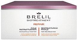 Profumi e cosmetici Fiale per il restauro dei capelli - Brelil Bio Treatment Repair Phials