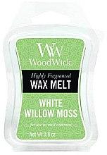 Profumi e cosmetici Cera profumata - WoodWick Wax Melt White Willow Moss