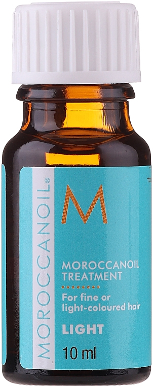Olio rigenerante per capelli - Moroccanoil Treatment For Fine And Light-Colored Hair