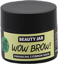 Profumi e cosmetici Maschera per la crescita delle sopracciglia - Beauty Jar Wow Brow! Enhancing Eyebrow Mask