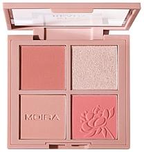 Profumi e cosmetici Palette trucco viso - Moira Stay Ready Face Palette