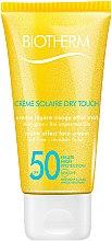 Profumi e cosmetici Crema protezione solare viso - Biotherm Sun Protection Creme Solaire Dry Touch SPF 50
