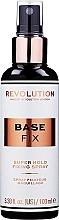 Profumi e cosmetici Spray fissante trucco - Makeup Revolution Base Fix Makeup Fixing Spray