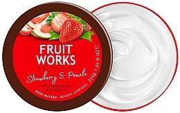 """Profumi e cosmetici Burro corpo """"Fragole e Pomelo"""" - Grace Cole Fruit Works Body Butter Strawberry & Pomelo"""