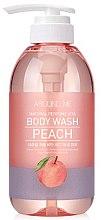 Profumi e cosmetici Gel doccia - Welcos Around Me Peach Body Wash