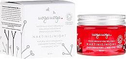 Profumi e cosmetici Crema da notte con estratto di mirtillo rosso e acido ialuronico - Uoga Uoga Hyaluronic Acid Night Cream