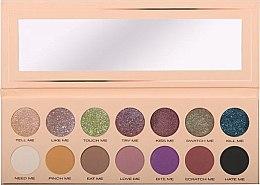 Profumi e cosmetici Palette ombretti, 14 colori - Pierre Rene Palette Match System Eyeshadow Pinch Me