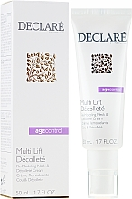 Profumi e cosmetici Crema rimodellante per collo e decollete - Declare Age Control Multi Lift Decollete Re-Modeling Neck