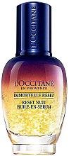 Profumi e cosmetici Elisir viso da notte - L'Occitane Immortelle Overnight Reset Oil-In-Serum